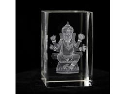 Feng Shui - Ganesha klaastahukas - SUUR ALLAHINDLUS